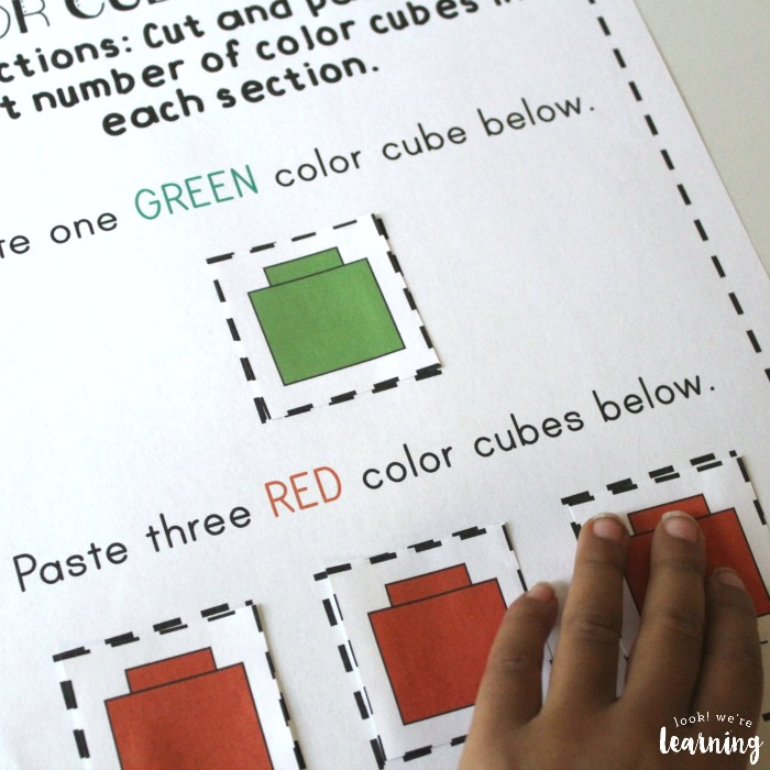 Using Preschool Sorting Worksheets to Practice Color Recognition