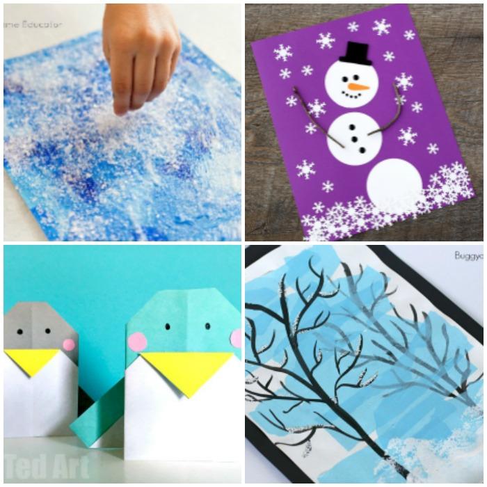 50 Fun Winter Crafts for Kids