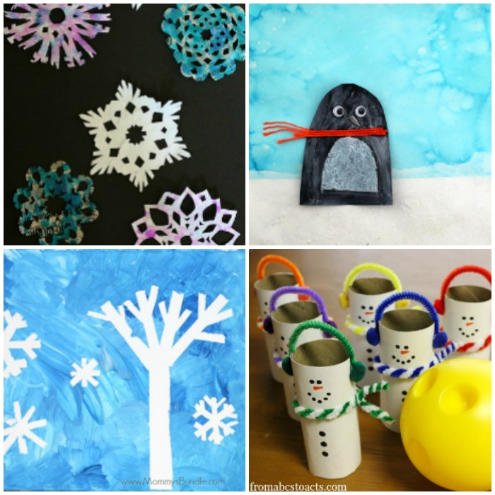 50 Winter Crafts for Kids