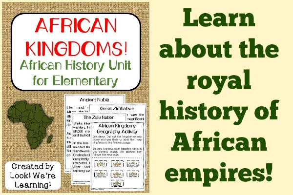African Kingdoms History Unit