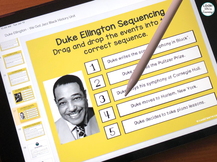 Digital Black History Duke Ellington Unit