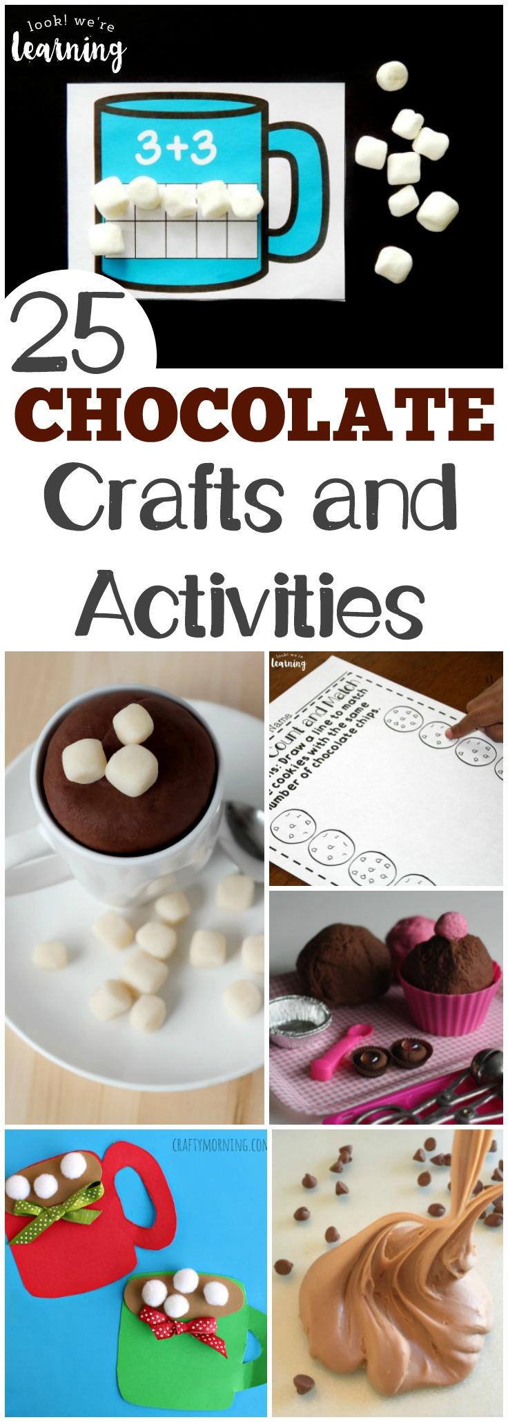 Make learning sweet with these fun chocolate craft ideas and activities for kids!