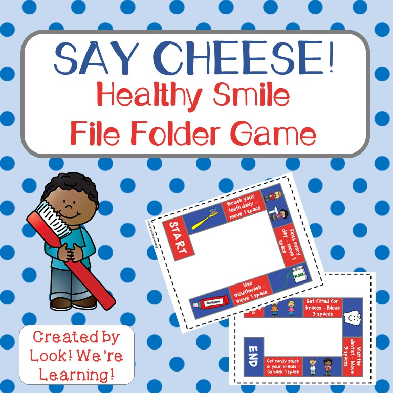 Say Cheese Healthy Smile Board Game for Kids