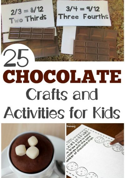 25 Chocolate Craft Ideas and Activities for Kids