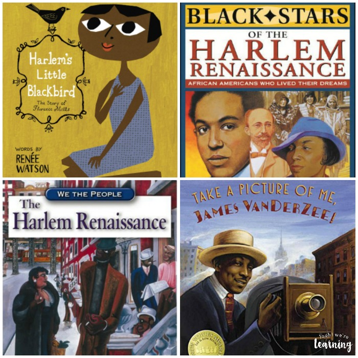 Beautiful Harlem Renaissance Books for Kids