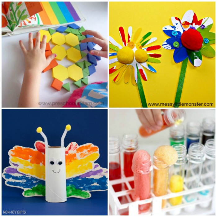 Colorful Rainbow Activities for Kids
