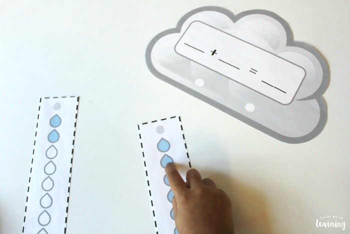 Raincloud Make Ten Activity