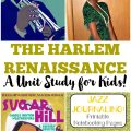 Take the children back in time to the glory days of Harlem with this Harlem Renaissance unit study for kids!