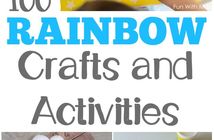 100 Fun Rainbow Activities for Kids