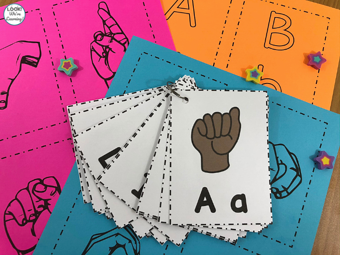 Sign Language Alphabet Printable Cards