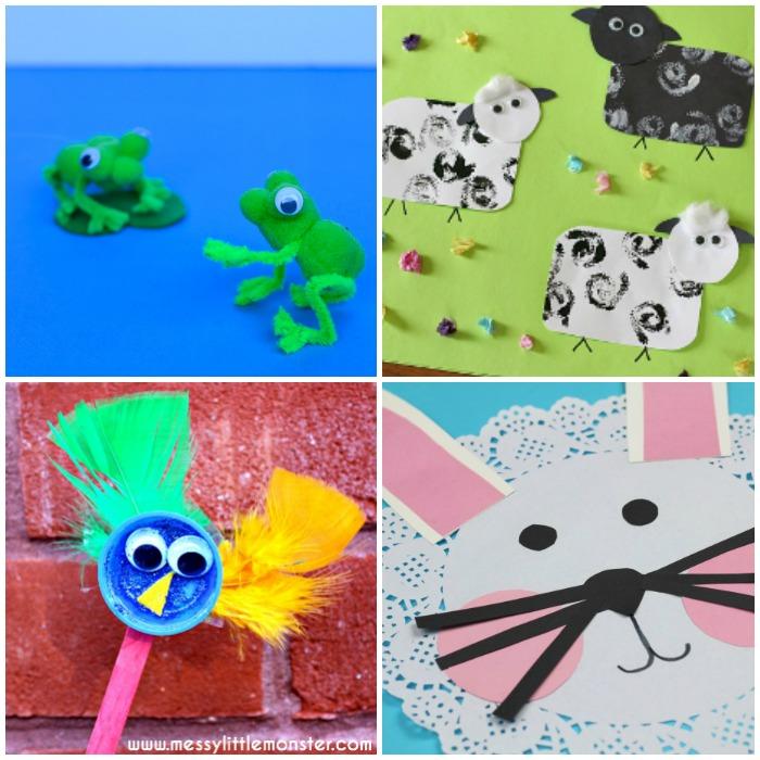 Spring Animal Crafts for Kids