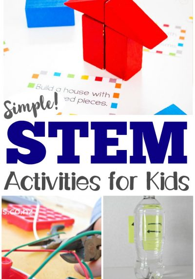 45 Easy STEM Activities for Kids