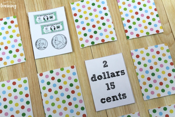 Counting Money Printable Money Game