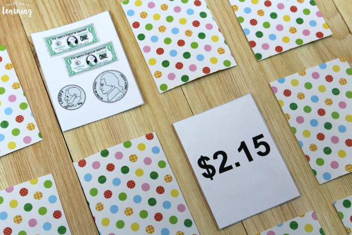 Dollars and Cents Printable Money Game for Kids