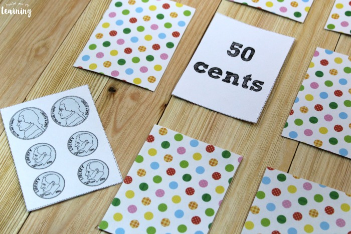 Dollars and Cents Printable Money Game