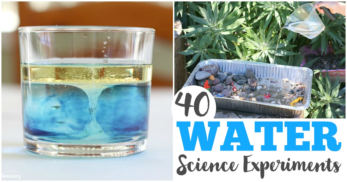 Fun and Simple Water Science Experiments for Kids to Try
