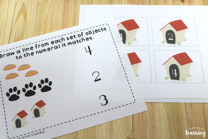 Harry the Dirty Dog Early Learning Printables