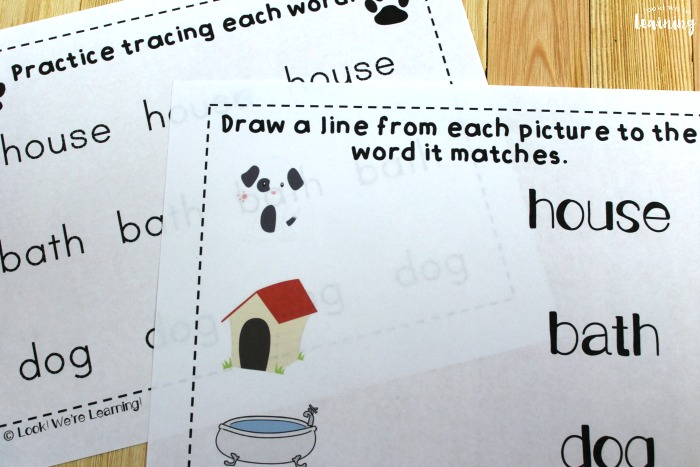 Harry the Dirty Dog Printable Worksheets for Kids