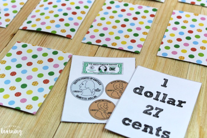 Learning to Count Money with a Printable Money Game