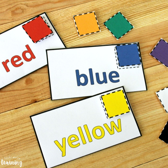 Mail Color Sorting Activity for Kids