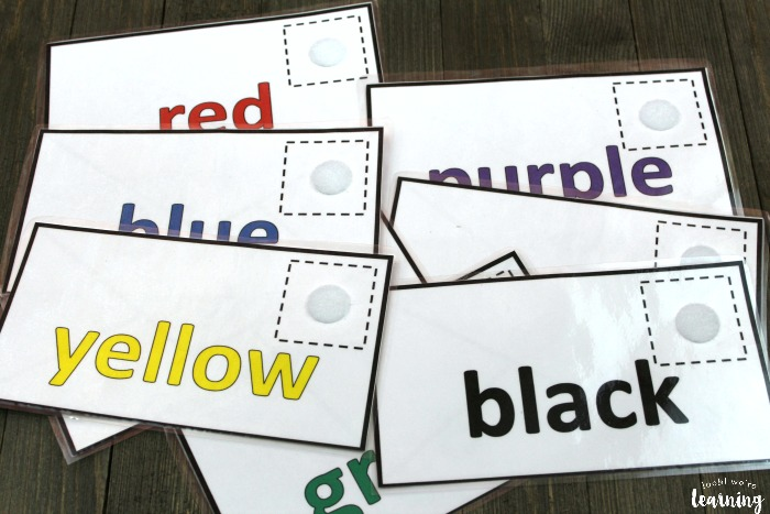 Mail Preschool Color Sorting Game
