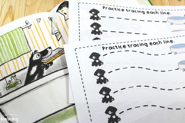 Preschool Harry the Dirty Dog Printables