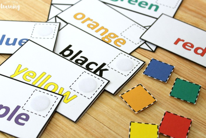 Preschool Mail Themed Color Sorting Activity