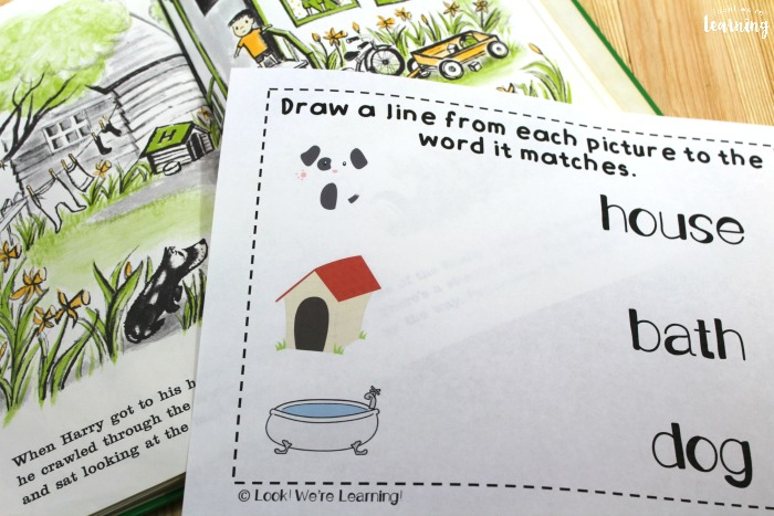 Printable Harry the Dirty Dog Printables for Preschool