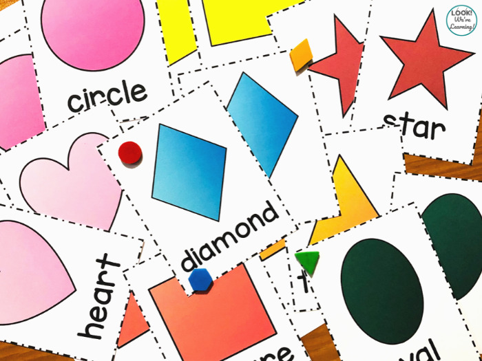 Printable Shape Flashcards for Early Learners
