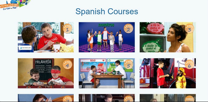 Spanish Courses from Foreign Languages for Kids by Kids