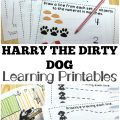 Use these Harry the Dirty Dog printables for kids to help early learners learn more about this classic story!