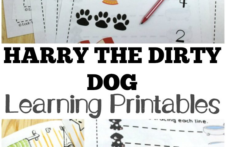 Harry the Dirty Dog Printables for Kids