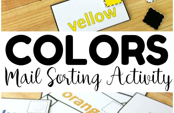 Multicolor Mail! Preschool Color Sorting Game