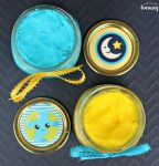 DIY Solar System Edible Playdough Recipe