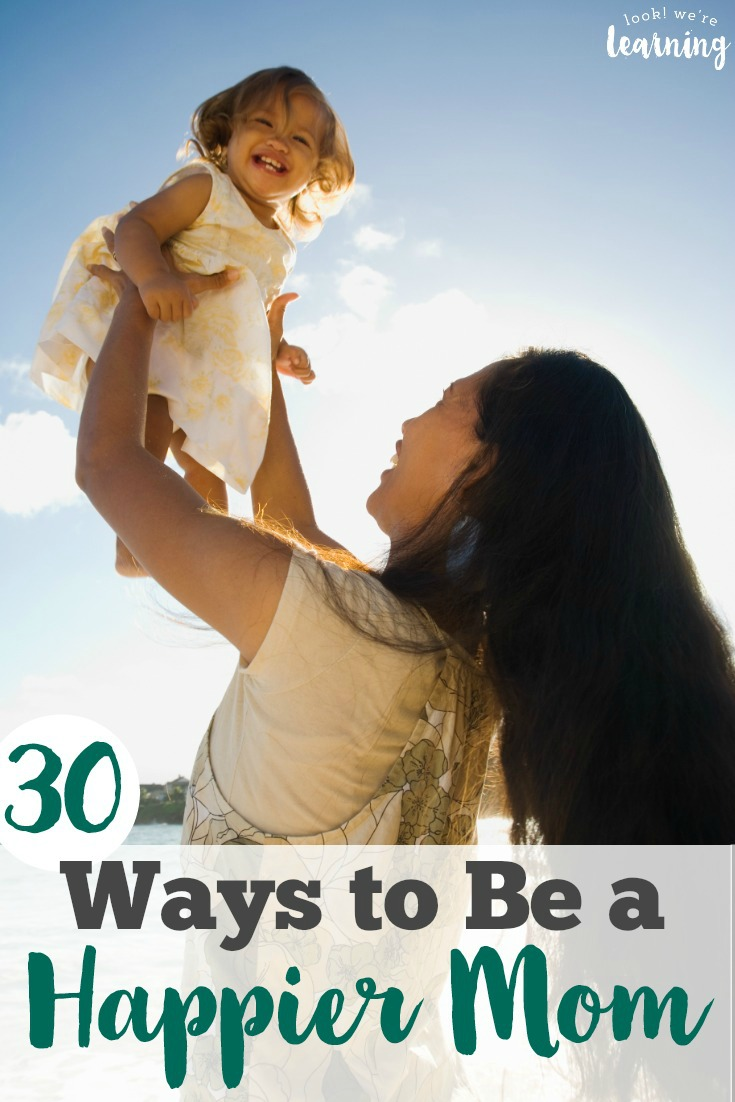 Feeling a little burned out as a mom? Try these tips for happy mamas to put some joy back into parenting!