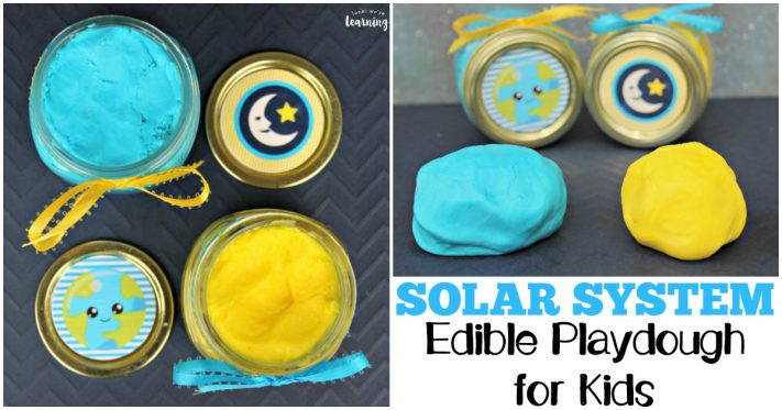 Fun and Easy Solar System Edible Playdough Recipe