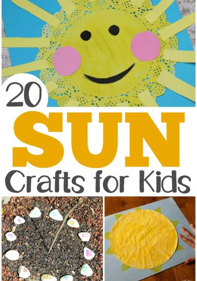 20 Fun and Easy Sun Crafts for Kids
