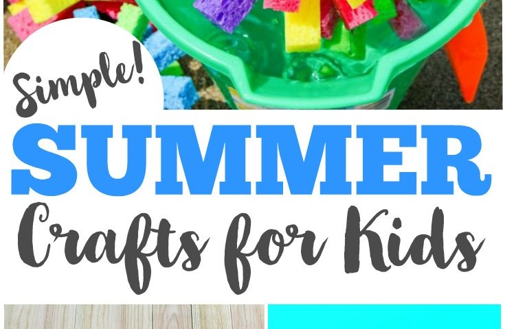 40 Simple Summer Crafts for Kids