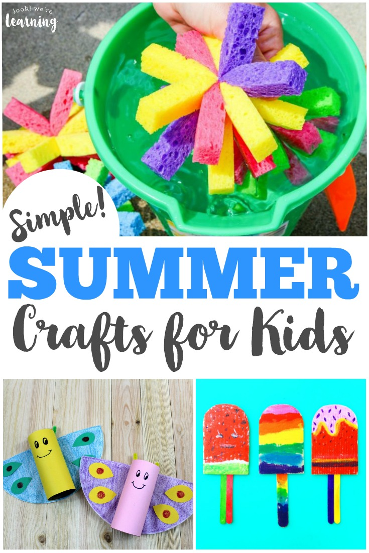 Share Some Easy Crafting Fun With The Kids This Summer List Of Simple