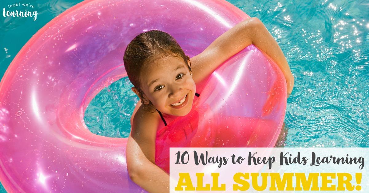 10 Easy Ways to Avoid the Summer Slide