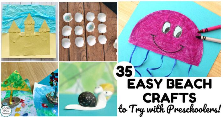 35 Fun PreK Beach Crafts for Preschoolers