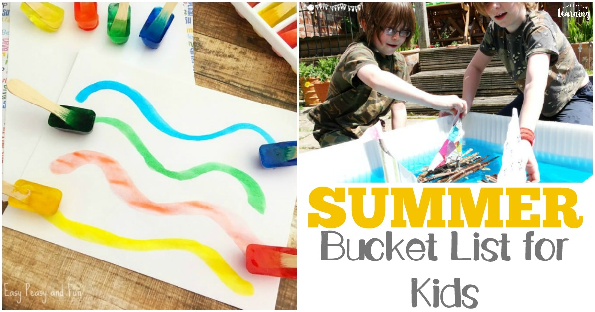 Fun Summer Bucket List for Kids