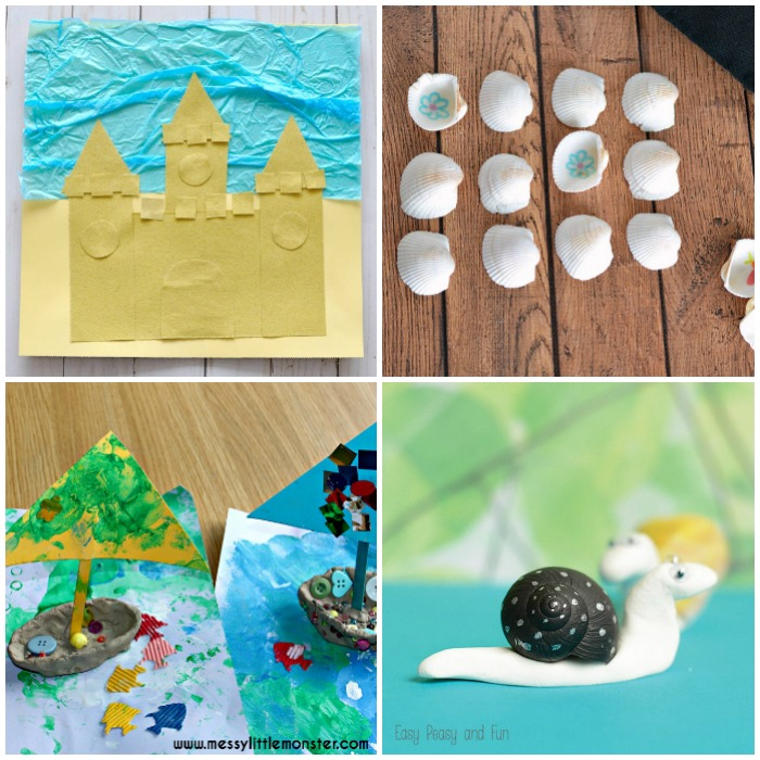 Fun and Easy PreK Beach Crafts