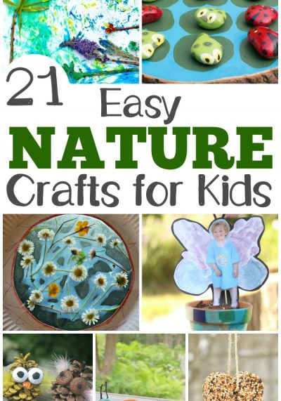 21 Easy Nature Crafts for Kids