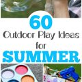Share these summer outdoor play ideas with the kids while the weather is warm!
