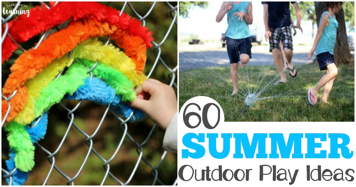 Summer Outdoor Play Ideas for Kids and Parents