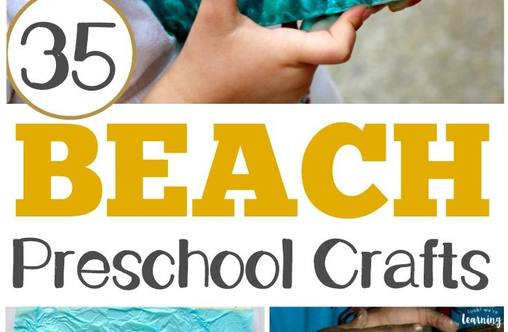 35 Easy PreK Beach Crafts for Kids