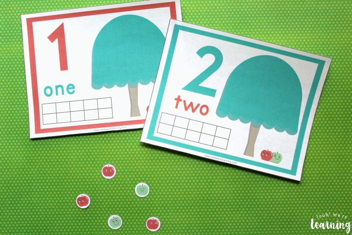 1-10 Apple Tree Counting Mats