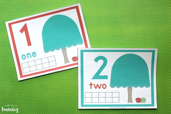 Apple Tree 1-10 Counting Mats