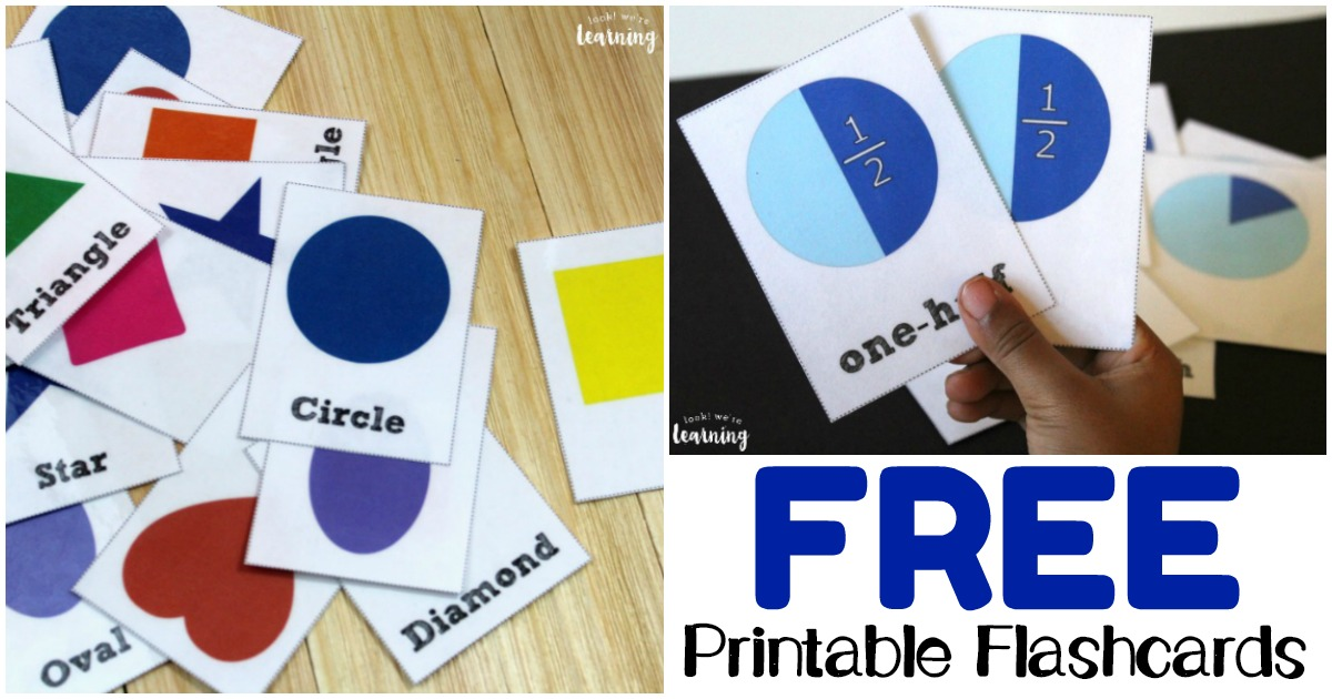 Free Printable Flashcards for Students and Teachers